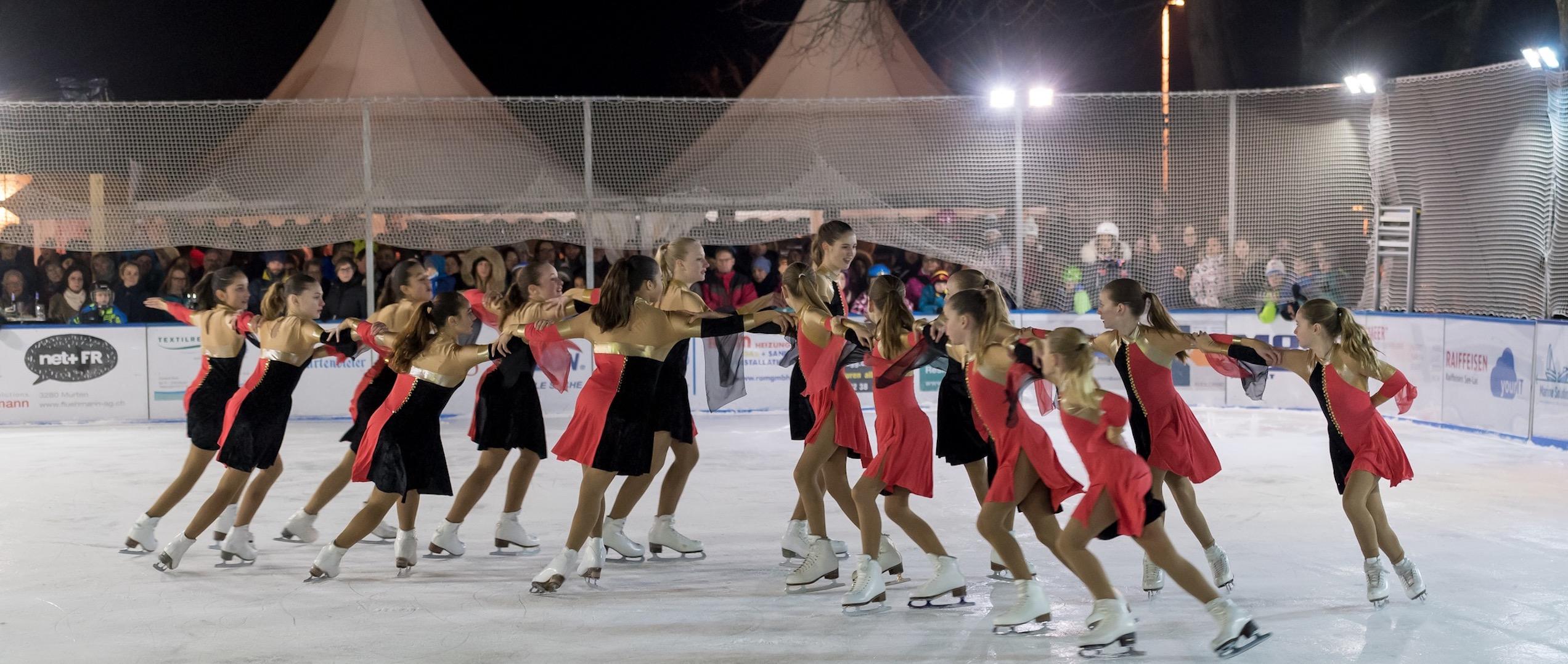 Eislaufkurse in MurtenEislaufschule Murten on Ice